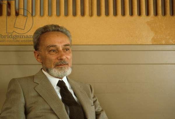 Portrait of LEVI PRIMO in 1982.