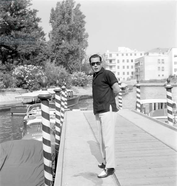 THE ACTOR TOSHIRO MIFUNE AT THE XXII INTERNATIONAL FILM FESTIVAL IN VENICE LIDO - 1961