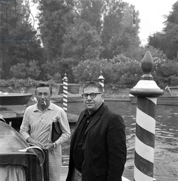 THE DIRECTOR MARTIN RITT AT VENICE LIDO - 1963