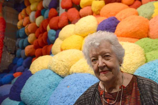 La Biennale di Venezia - 57th International Art Exhibition Arsenale artist Sheila Hicks art artist