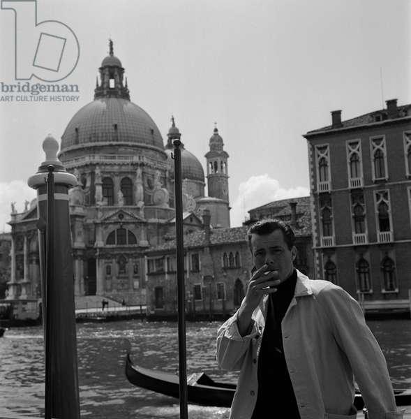 THE ACTOR DIRK Bogarde IN VENICE - 1960-1962