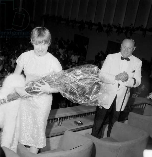 THE ACTRESS SHIRLEY MACLAINE AT XXI INTERNATIONAL FILM FESTIVAL OF VENICE - 1960