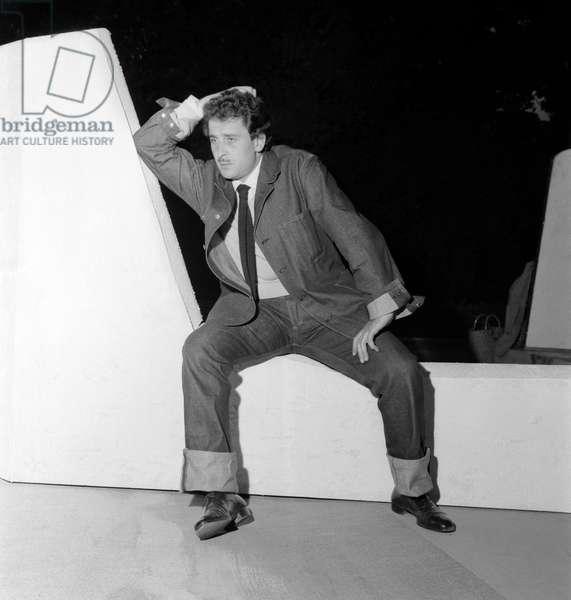 THE SINGER DOMENICO MODUGNO - 1958 - VENICE