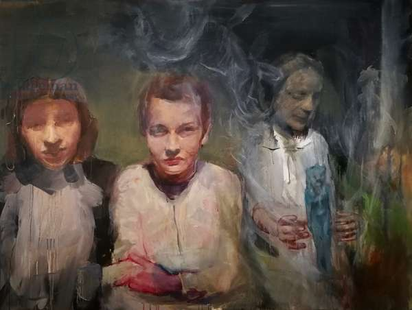 Bad Servant, 2020 (oil on canvas)