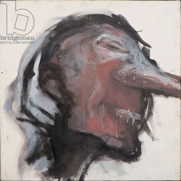Head I (Homage to Bacon), 2006 (oil on canvas)