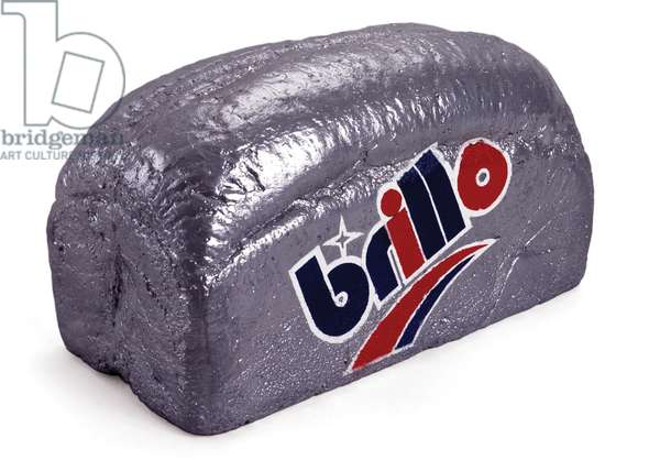 Brillo Loaf, 2003 (painted concrete)