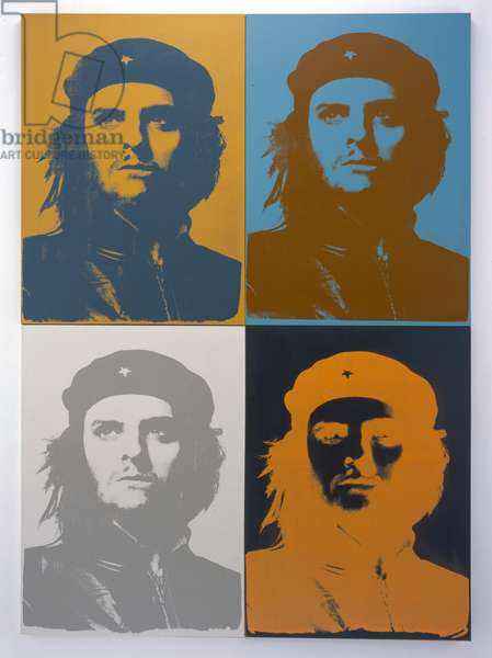 Four Che, Seven Hues, 2005 (silkscreen on canvas)