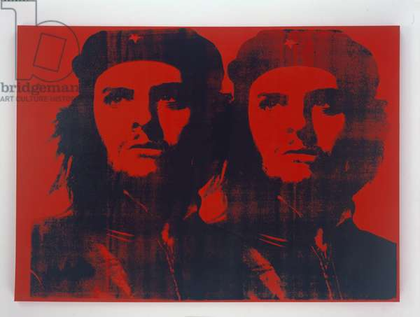 Double Red Che, 2005 (silkscreen)