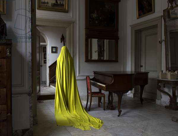 Woman in Huis te Warmond (I), 2014 (photo)