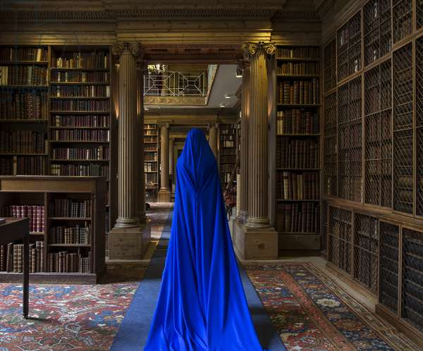 Eton College Library and She I, 2017 (photo)