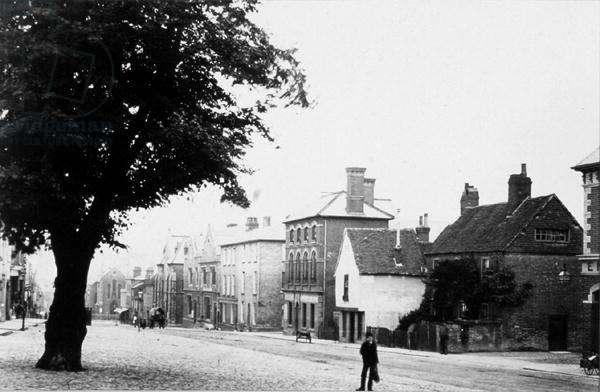 North Street, Guildford (b/w photo)