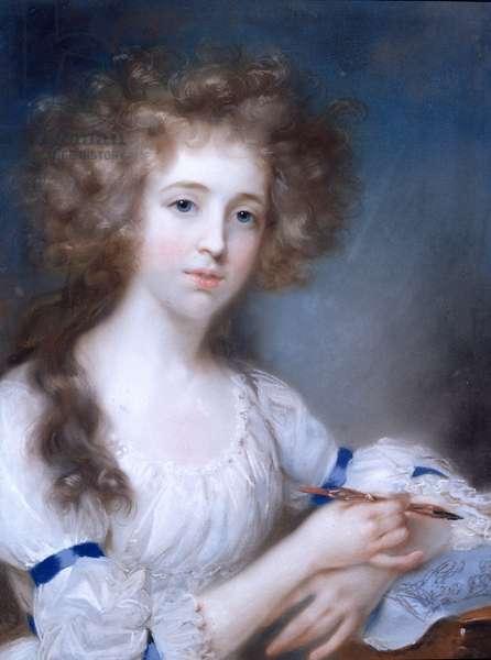 Portrait of a Lady (pastel)