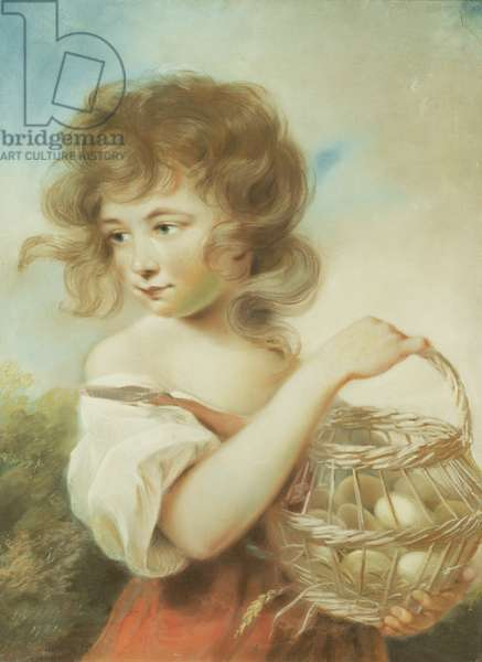 The Girl with the Basket of Eggs