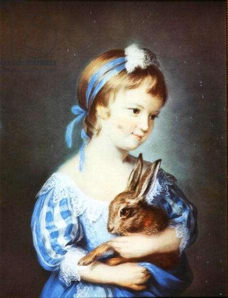 Hon. Henrietta Rice (pastel)