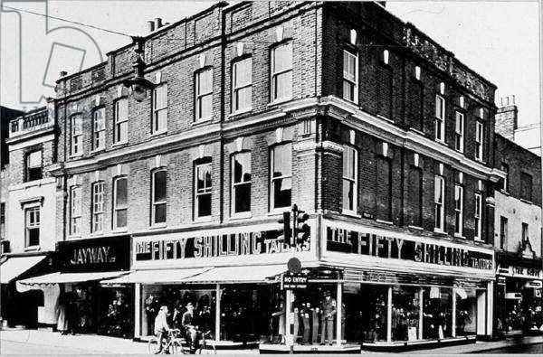Guildford High Street (b/w photo)
