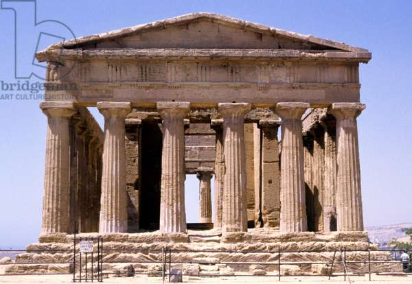 Temple of Concord, Agrigento, Greek Temple, Sicily (photo)