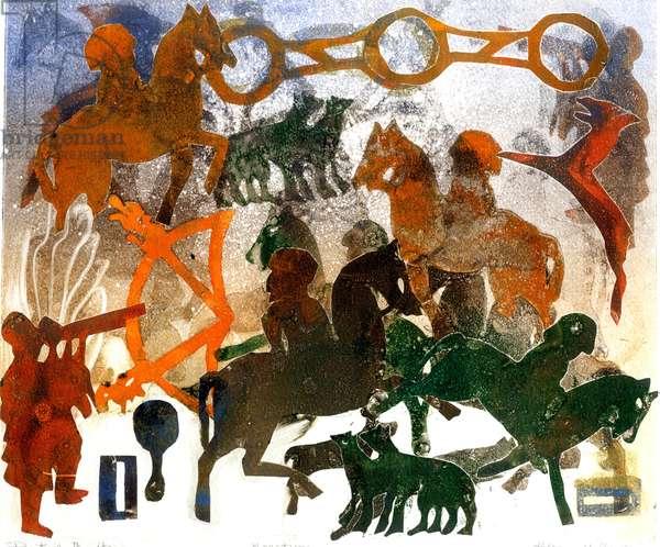 Pictish Heritage (monotype)