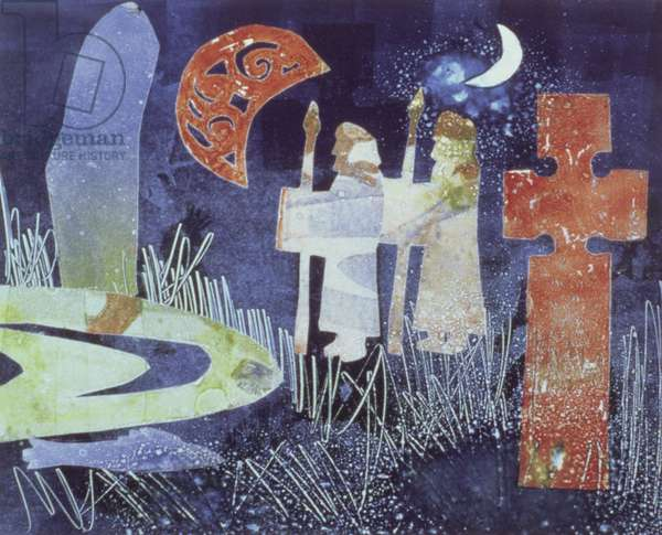 Midsummer Night, 1994 (monotype)