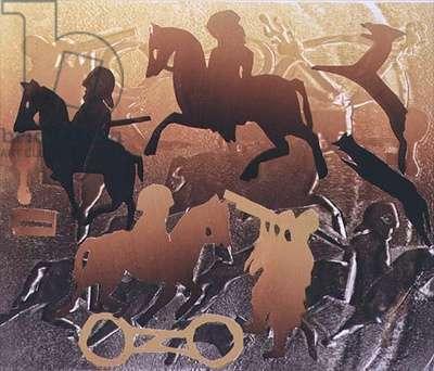 Pictish Princess, 1996 (monotype)