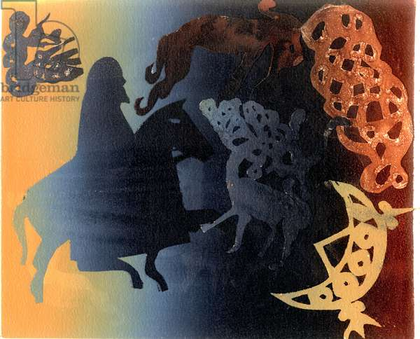 Celtic Image (monotype)