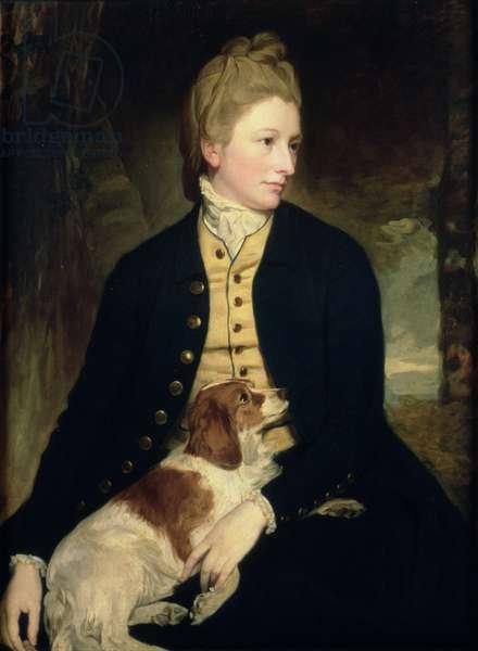Lady Louisa Lennox, 1777 (oil on canvas)