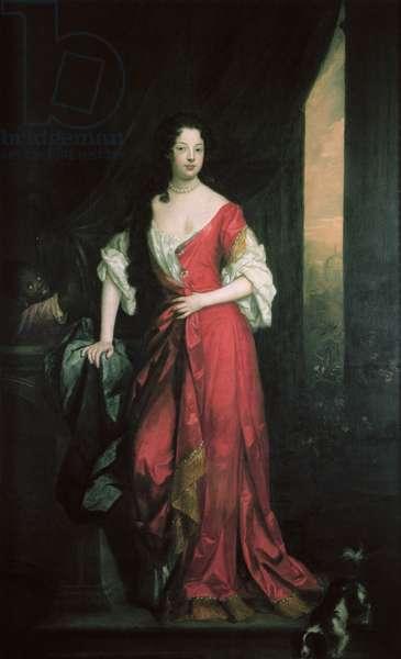 Louise de Keroualle (1649-1734) 1684 (oil on canvas)