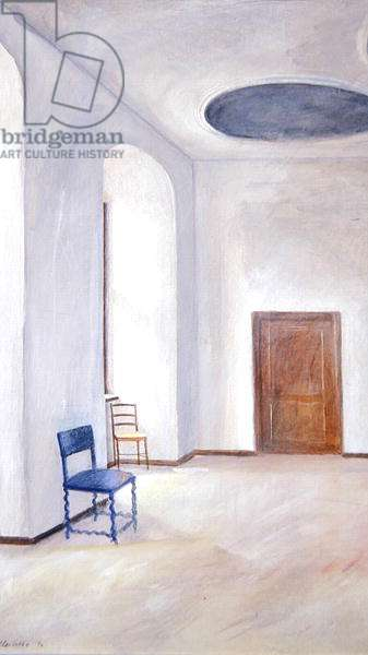 Blue Chair, 1994 (oil on board)