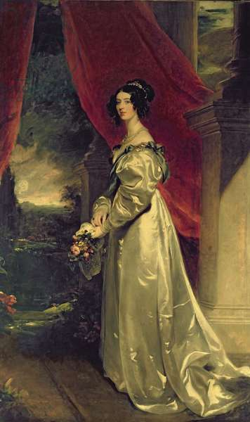 Caroline, 5th Duchess of Richmond, 1829 (oil on canvas)