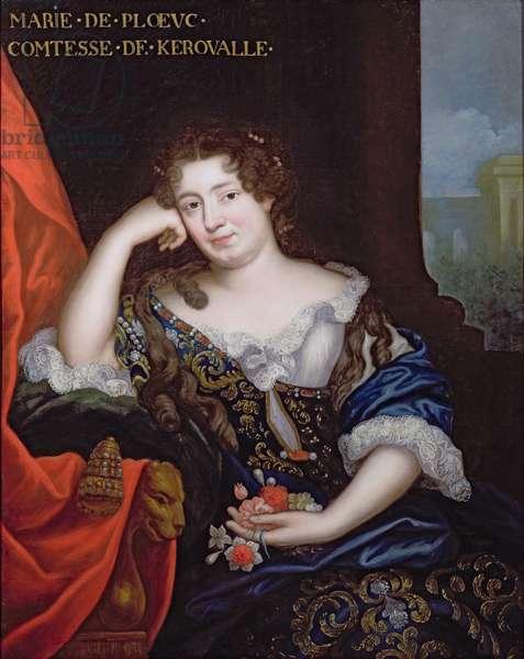Marie de Penancoet, Comtesse de Keroualle (oil on canvas)