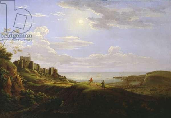 Dover Castle, 1735 (oil on canvas)