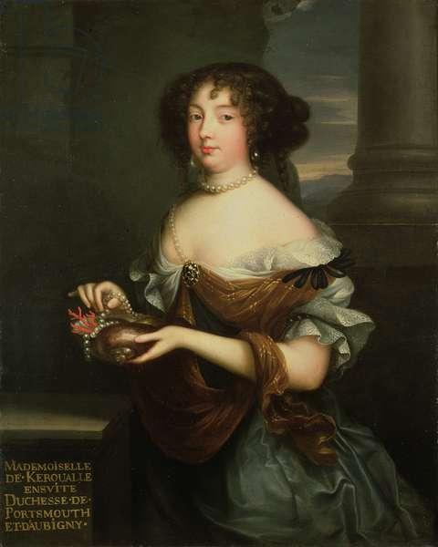 Louise de Keroualle (1649-1734) (oil on canvas)