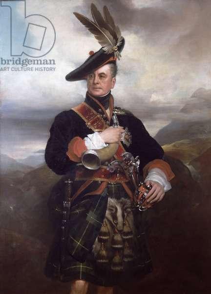 George, 5th Duke of Gordon (oil on canvas) (detail of 271403)
