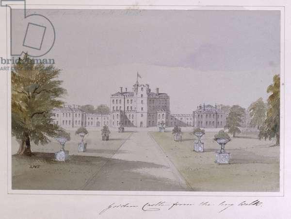 Gordon Castle (w/c on paper)