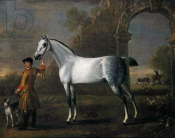 Grey Cardigan, c.1743-6 (oil on canvas)