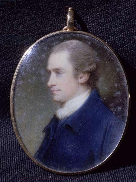 Charles, 3rd Duke of Richmond (oil on copper)