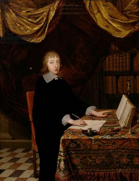 Lodowyck Stuart, Abbe d'Aubigny (oil on canvas)
