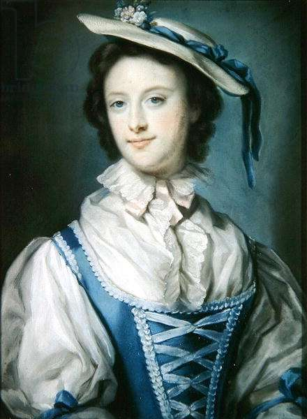 Emily (1731-1814) Countess of Kildare (pastel on paper)