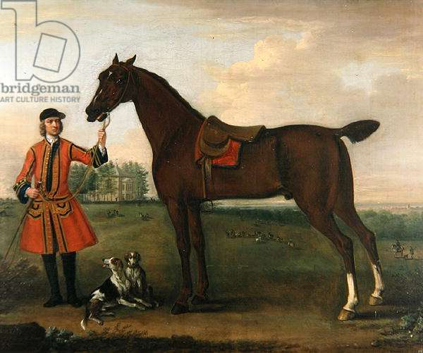 Sultan, 1743 (oil on canvas)