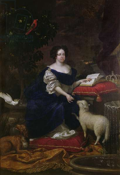 Catherine of Braganza (oil on canvas)