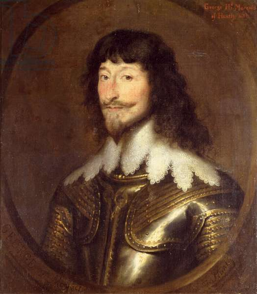 George Gordon (c.1590-1649), 2nd Marquess of Huntly, 1626 (oil on canvas) (for pair see 266100)