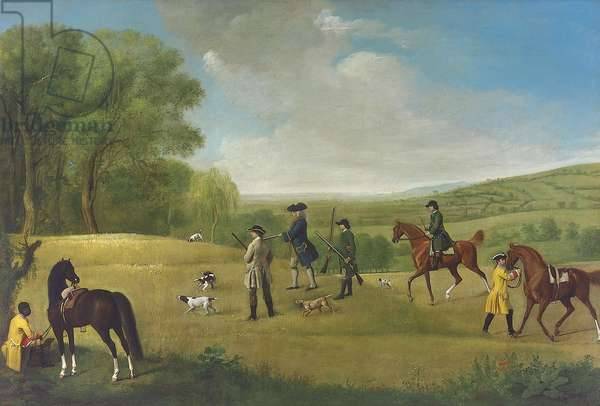 Shooting at Goodwood, 1759 (oil on canvas)