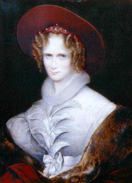 Princess Augusta of Saxe-Meiningen, c.1835 (oil on canvas)