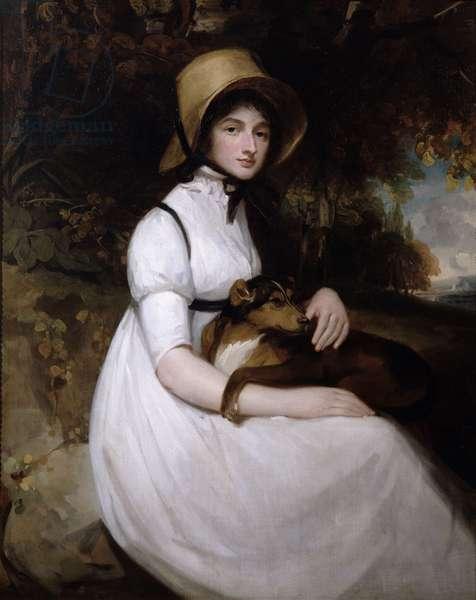 Henrietta Le Clerc (oil on canvas)