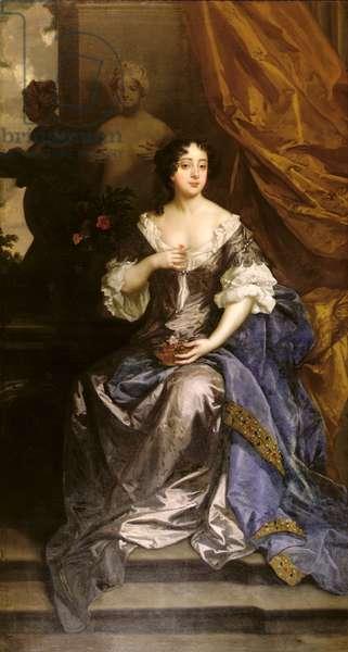 Barbara Villiers (oil on canvas)