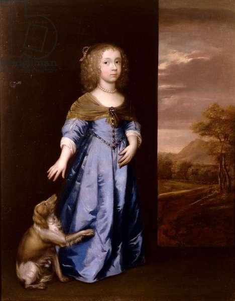 Lady Henrietta Mordaunt (oil on canvas)