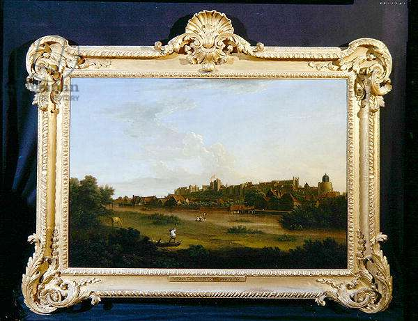 Windsor Castle, 1735 (oil on canvas) (see also 271458)
