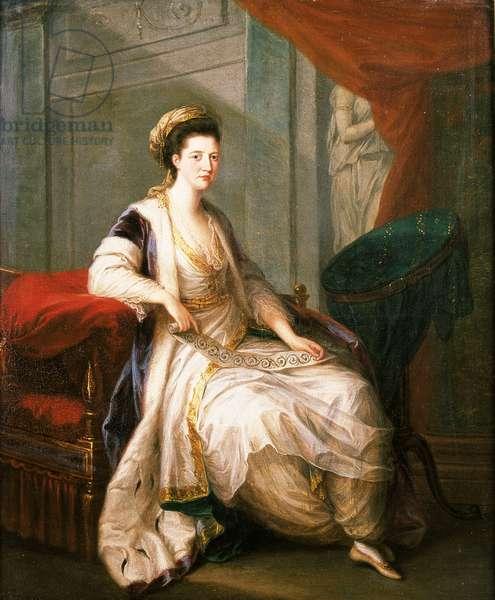 Mary Bruce, Duchess of Richmond, c.1775 (oil on canvas)