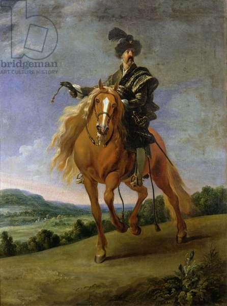 John III Sobieski (oil on canvas)