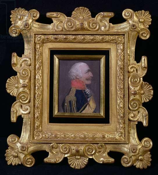 Marshal Prince Blucher (oil on canvas)