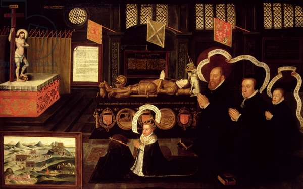 The Memorial of Lord Darnley (oil on canvas)